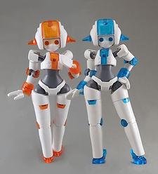 家庭用お手伝いロボット「カデンナ」のプラモデルや、女性型ロボ「MoMo」を作られている立体造形作家・島本娼弘氏の「侵略ロボ」です! 「カデンナ」は当スクール店内にも飾ってあります♪  現在、「侵略ロボ」さまとコラボイベントの検討中です!お楽しみに!    Twitterはこちら https://twitter.com/optune