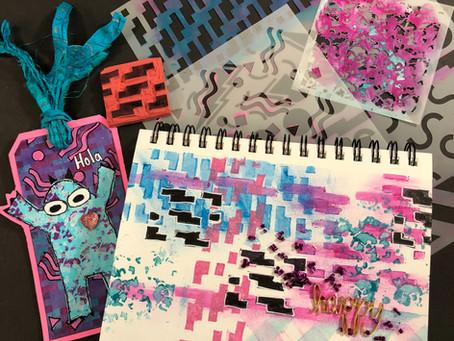 Stencil Fun for Stencil Girl
