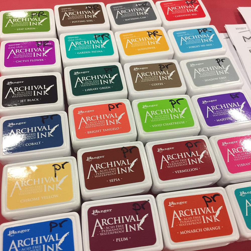 Nedw mini Archival ink pads