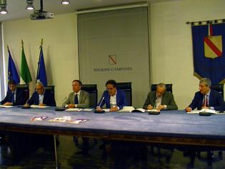 Conferenza stampa a Napoli del ventennale del Premio Cimitile