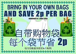 Save money on bags