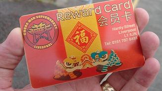 Chung Wah reward card