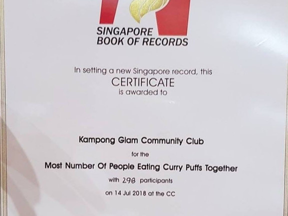 Singapore Book of Records Most Curry Puf