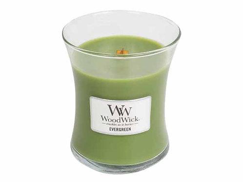 Geurkaars WoodWick Evergreen
