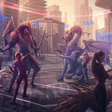 Virtual Monsters