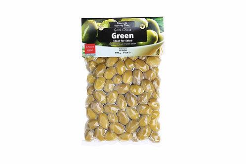 Greek Green Olives / Πράσινες Ελιές 500gr