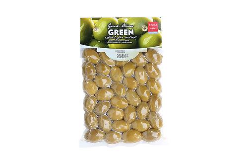 Greek Green Olives / Πράσινες Ελιές 250gr
