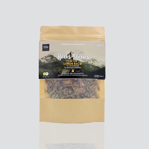 Cretan Organic Lemon Balm in Conversion to Organic Farming