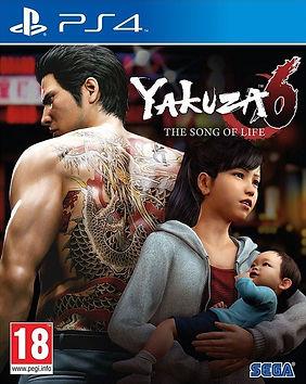Yakuza 6 ps4 6 יאקוזה