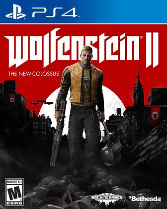 Wolfenstein The New Colossus וולפנשטיין 2