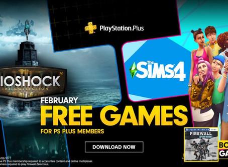 משחקי פלייסטיישן 4 בחינם: ביושוק וסימס 4