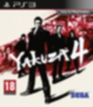 Yakuza 4 ps4 יאקוזה