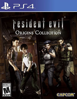 Resident Evil Origins US cover