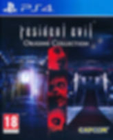 Resident Evil Origins European cover