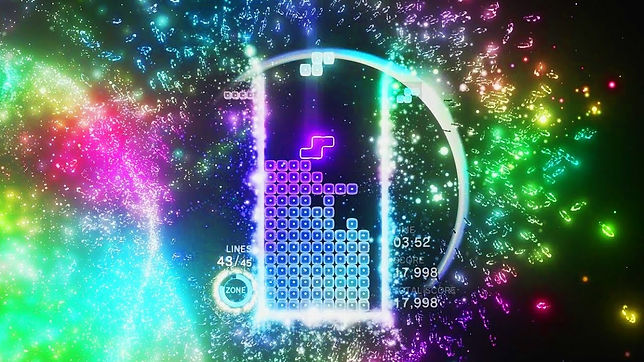 Tetris Effect אפקט הטטריס
