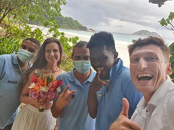 The wedding team