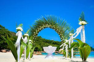VIP seychelles wedding