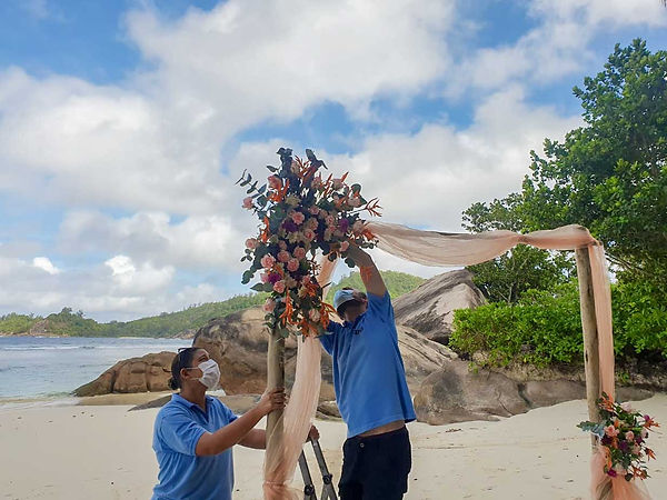Wedding packages in Seychelles
