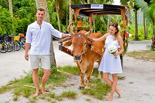 Wedding on La Digue Seychelles