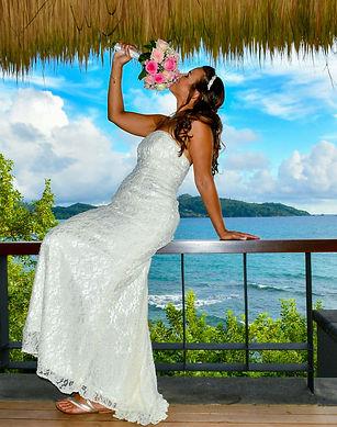 Express Seychelles wedding