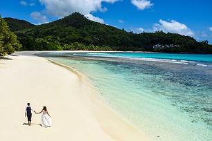 Wedding on Praslin Seychelles