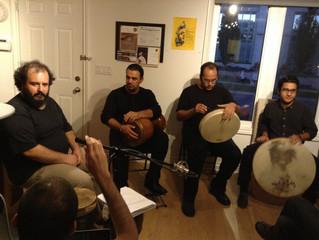 With Varashan Percussion Ensemble