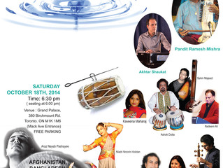 An eastern classical evening with artistes from 6 countries on one stage together to show that &quot