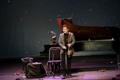Performance at Meridian art Center, Toro