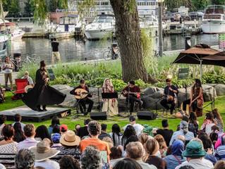 Inner Journey V @ Toronto Harbourfront Music Garden 07.25.19.