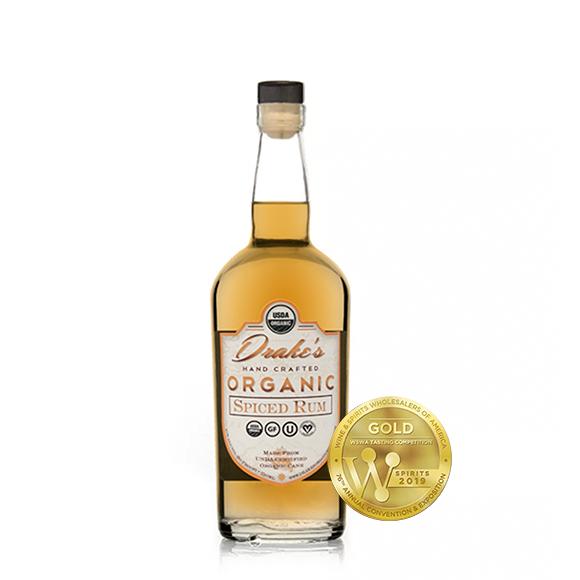 Drakes organic spiced rum