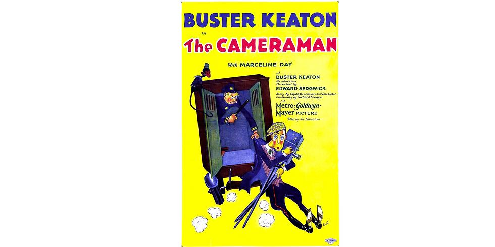 "Buster Keaton's ""The Cameraman"" accompanied by Doug Protsik"