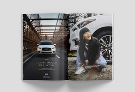 INFINITI - Luxury Should Be Lived In - Print