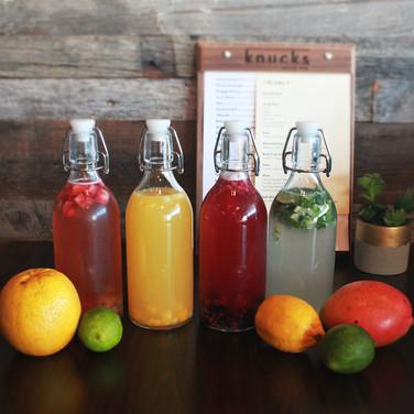 Real Fruit Cocktail Soju