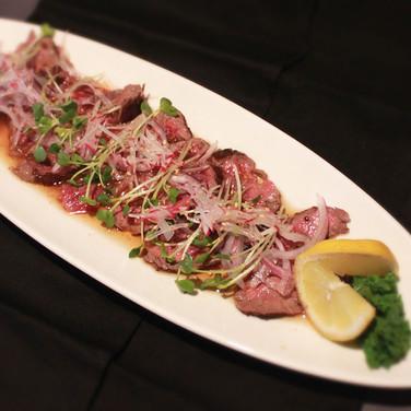 Filet Mignon Tataki