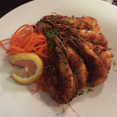 Cajun Garlic Shrimp