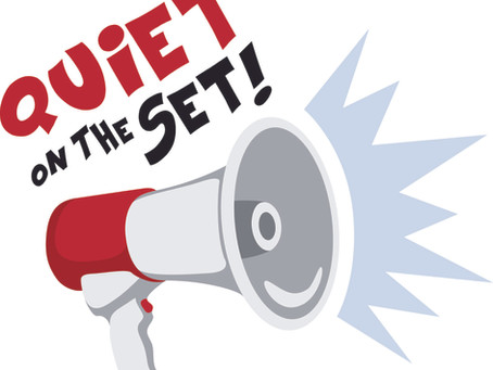 Diane's Diary #28: Quiet on the Set Please!