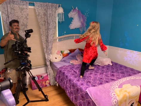 Diane's Diary #27: Filming on a Rainy Day in Florida