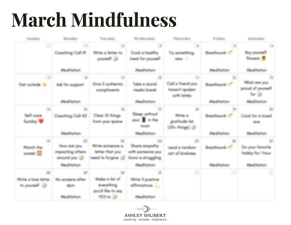 March Mindfulness Blurred Calendar copy.