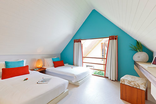 Quad, Trundle, or Shared Bed - Thailand