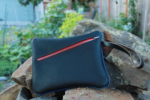 Two-Faced Zipper Bag