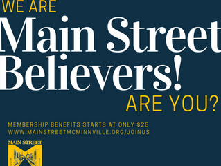Are you a Main Street Believer?
