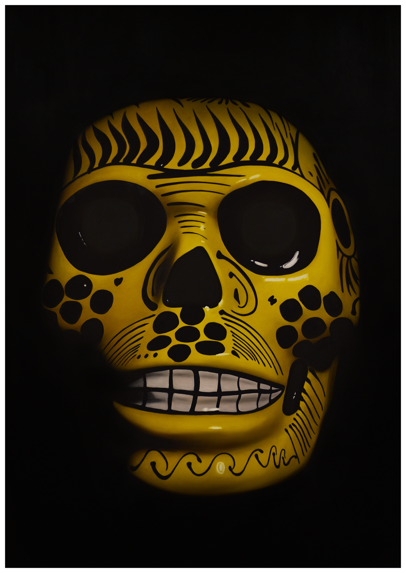 Yellow Calavera