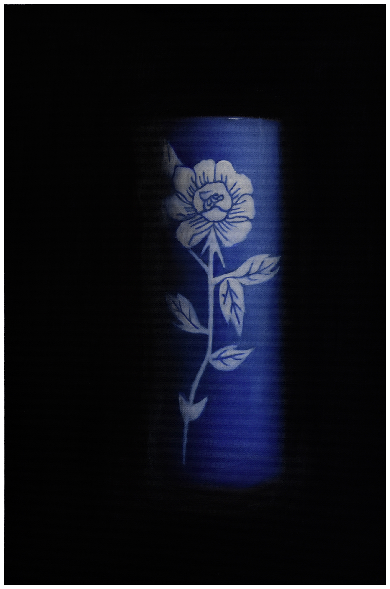 Empty Chinese Vase