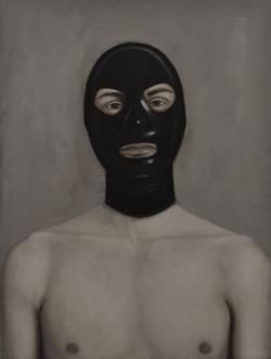 Self-Portrait with Fetish Mask