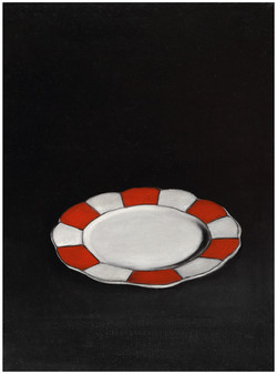Smashed Object - Red Plate