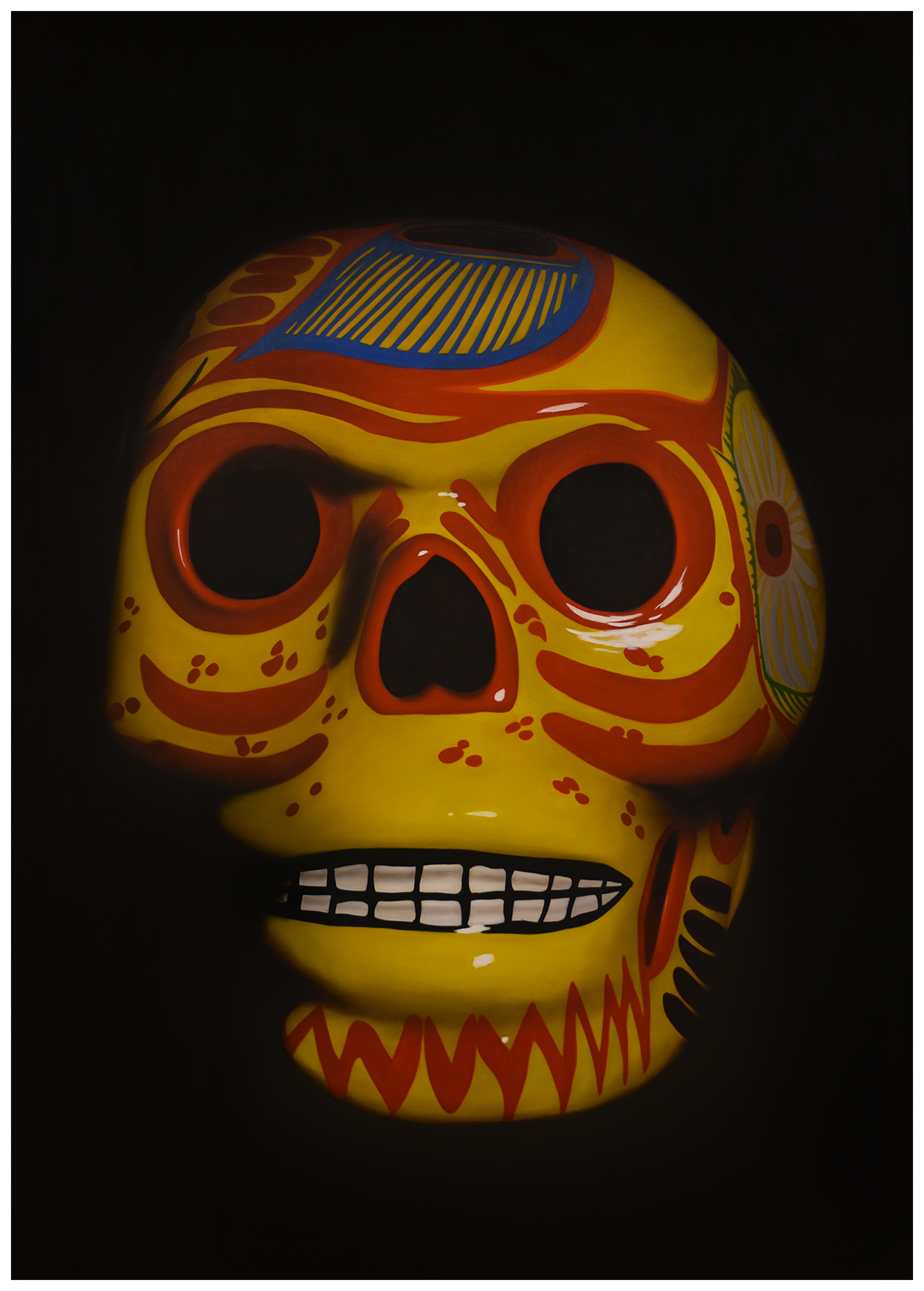 Orange Calavera