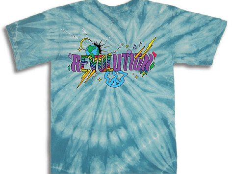 Revolution Charity Tee - Available Now