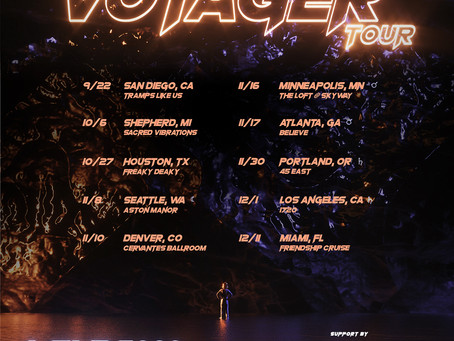 VOYAGER TOUR ANNOUNCED