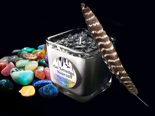 Go Smudge Yourself! candle