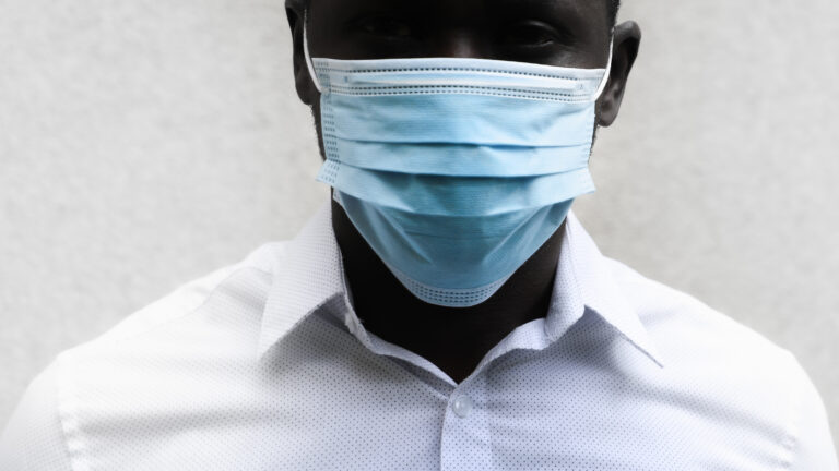 Wearing a face mask helps protect me against Covid-19, but not against racism